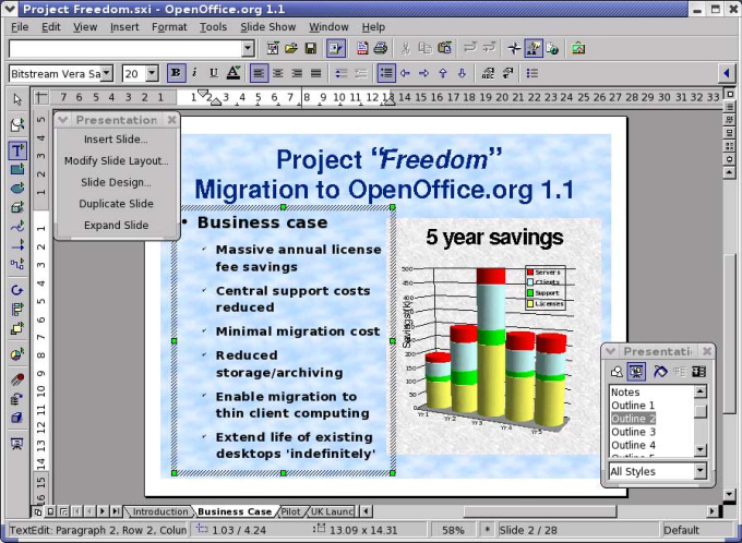 Open Office Excel Templates