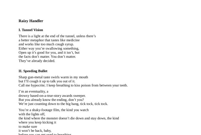 How to write a Poem or Song?