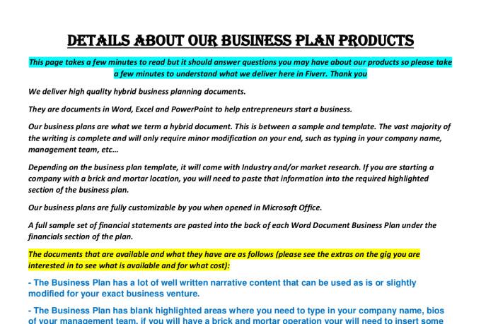 Smoothie bar business plan