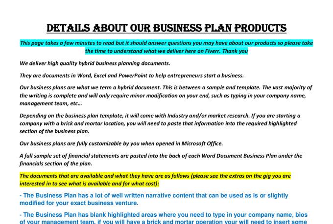 Business plan for yoga studio