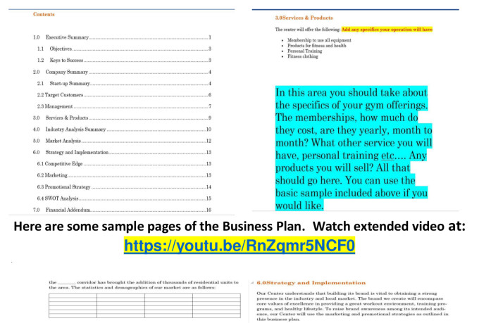 Gym Business Plan Templates [Plus Free Cheat Sheet PDF]
