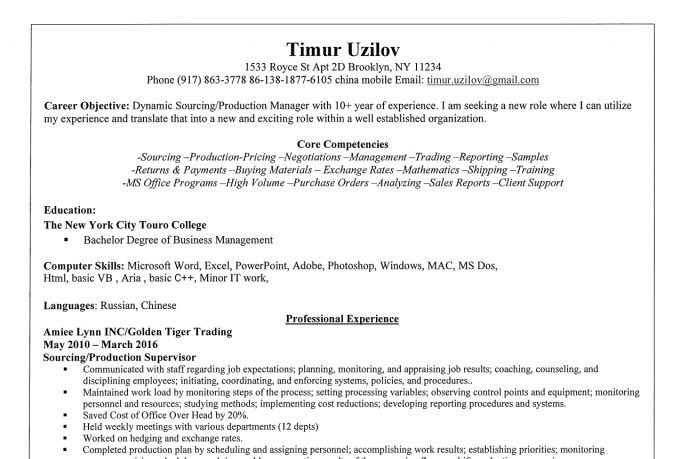 build you a professional resume fiverr