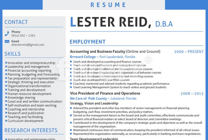 design resume curriculum vitae cv cover letter