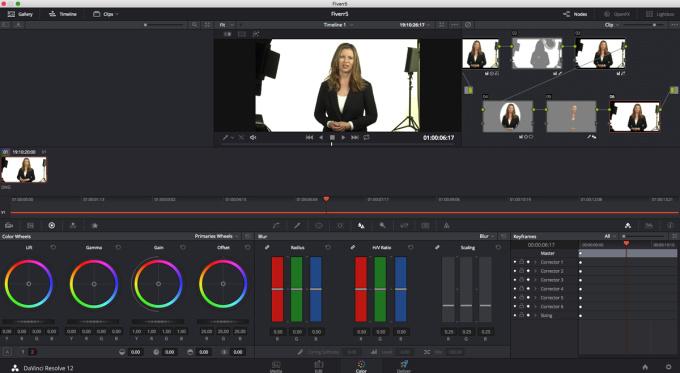 create a professional HD spokesperson video