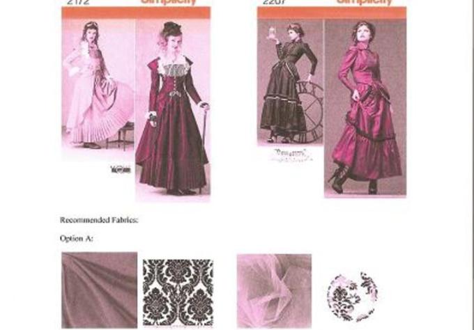 design Custom Halloween or Historic Costume