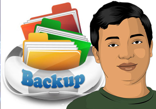 how to take website backup