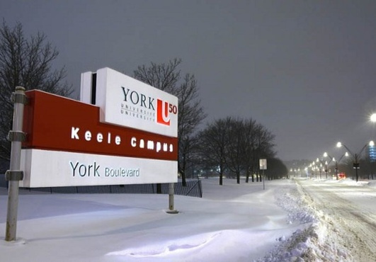 post up 50 Flyers at York University with 55,000 Students and 250,000 Alumni
