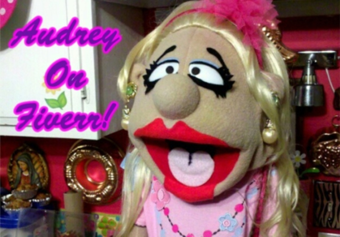 make Video Greetings With Audrey The Puppet