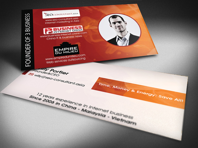 design a professional business card and free editable file