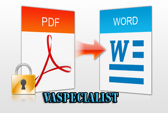 how to convert pdf image to text
