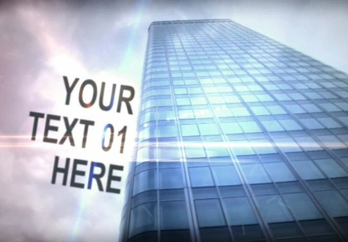create exclusive mega city text intro to promote your product, website, or else