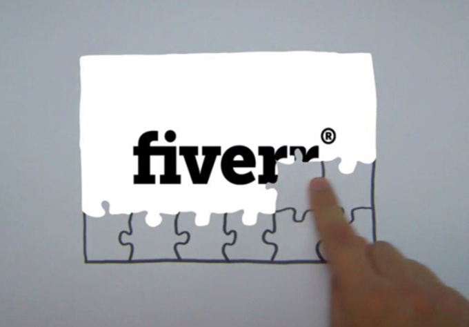 add your logo to this magic puzzle animation
