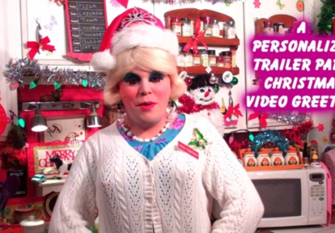 make a Video Greeting for Trailer Park Christmas