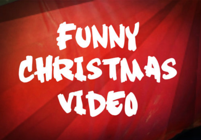 make a funny Christmas video of you and your friends