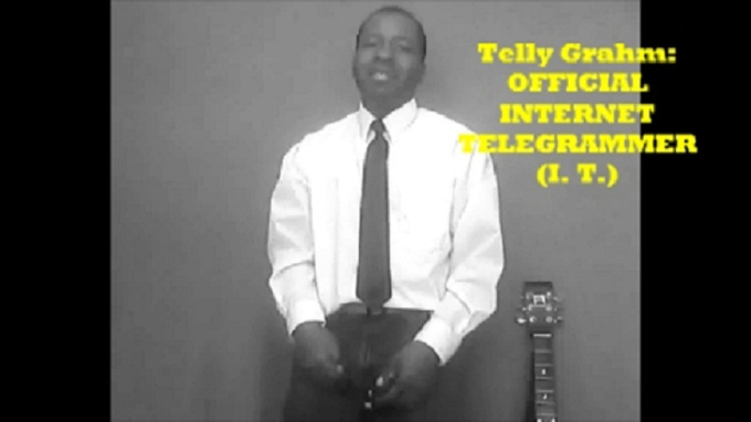 sing YOUR words in a funny telegram birthday song