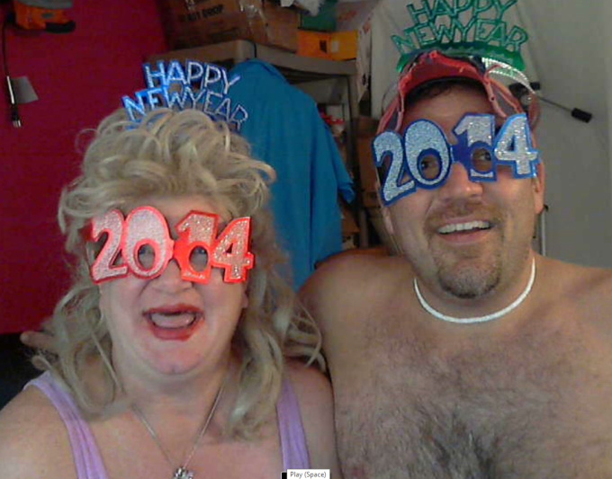 make a redneck couple crazy greeting card New Years Year Silvester gig video
