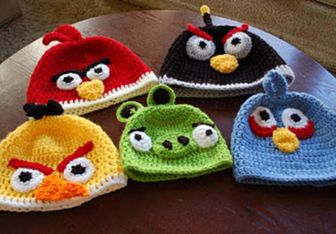 crochet you a Angry Birds Beanie