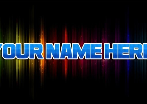 Make an awesome desktop background with your name on it - Create wallpaper with my name ...