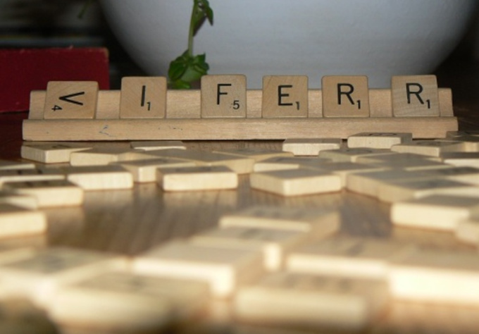 scrabble your word or message in a Stop Motion video