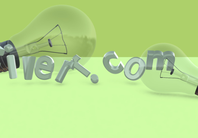 make a Nice Profesional Personalized 3d intro featuring your web domain or text using AE and the amazing Element 3D