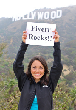 hike to the HOLLYWOOD Sign with your message and snap photo