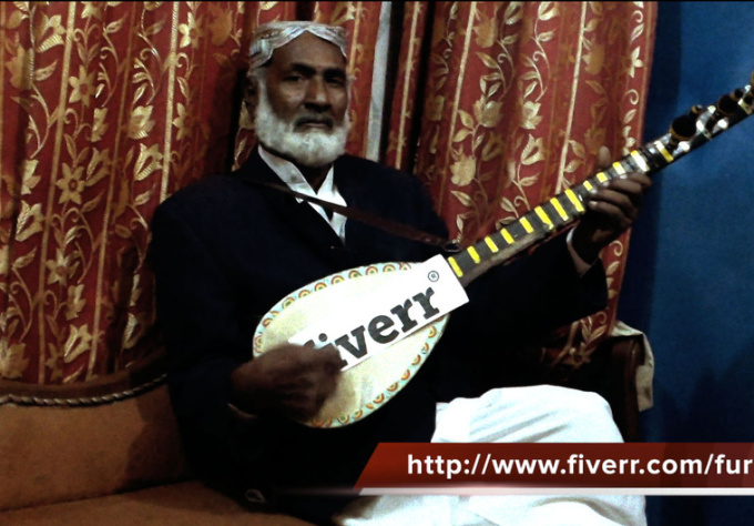 promote your business or brand on Tanpura in Live music session by an awesome Tambura player