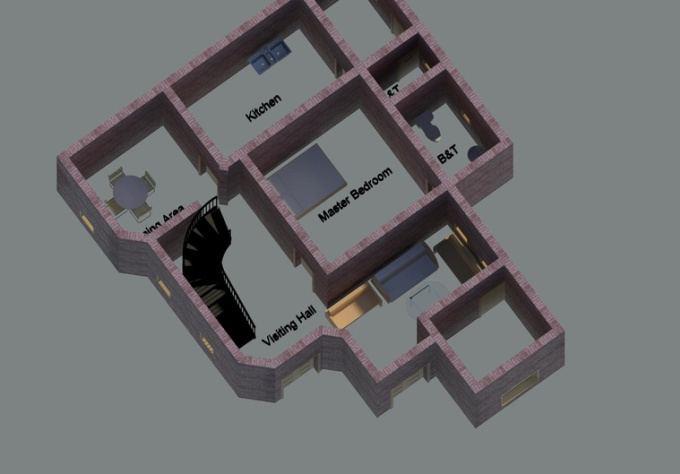 Level 1 Drawings Level 1 Create House Plan