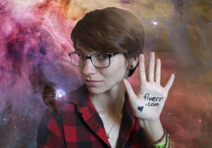 write anything you want on my hipster hands or face
