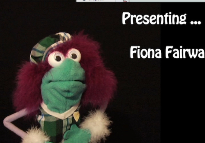 be your SpokesPuppet, Fiona Fairway