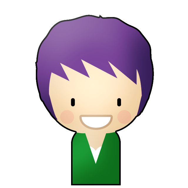 create a awesome little person graphic cartoon of