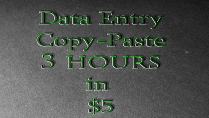 Data Entry Data Entry Job Virtual Assistant
