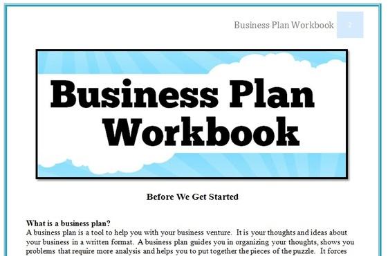 Help make a business plan