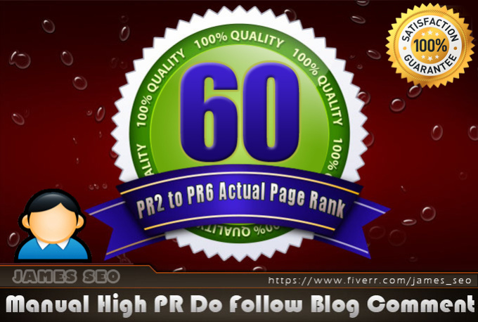 give you 60 Links PR2 to 6 on actual page rank