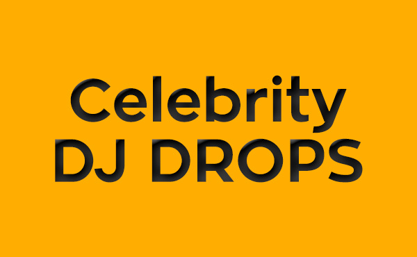 give you celebrity dj drop templates