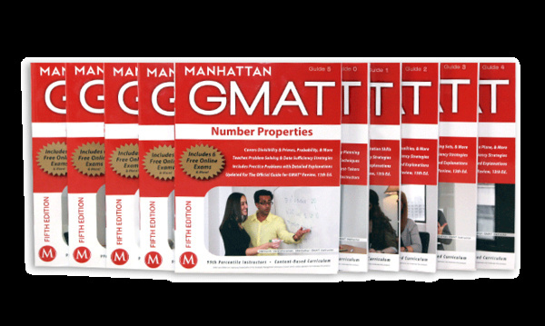 Manhattan GMAT Complete Strategy Guide Set by Manhattan GMAT Staff (2012,...