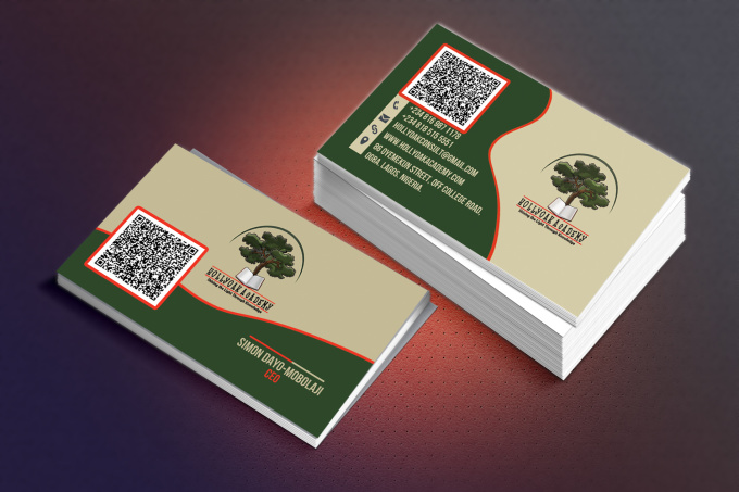Design your professional business card fiverr for Fiverr business cards