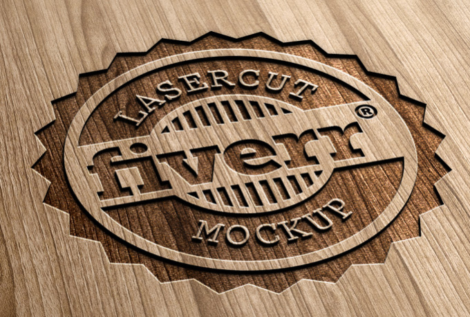 Make Your 2d Logo Look Like 3d Engraved Wood