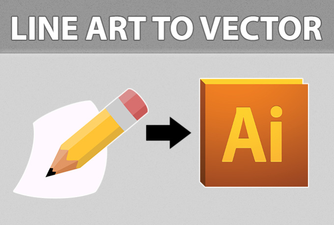 convert your line art to a vector format