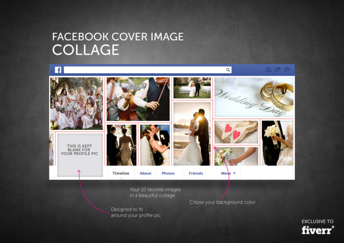 Facebook Cover Collage : Create a beautiful facebook cover image collage