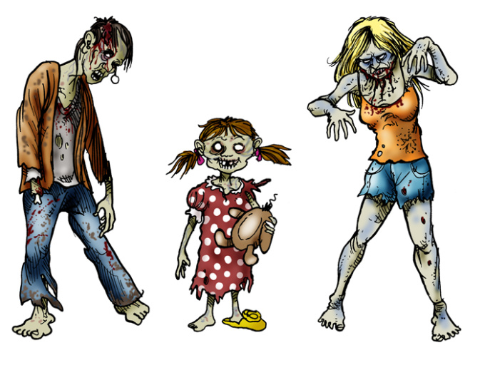 free zombie clipart images - photo #29