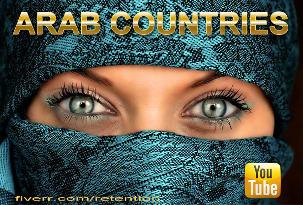 send 2,000 YouTube Views from Arab Countries