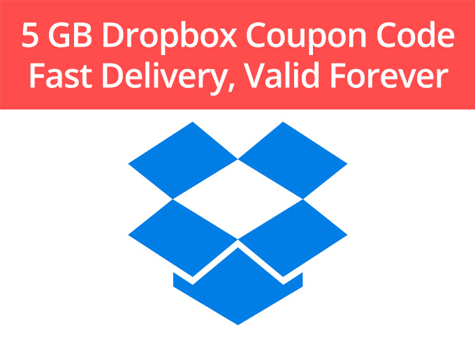 Dropbox coupon code