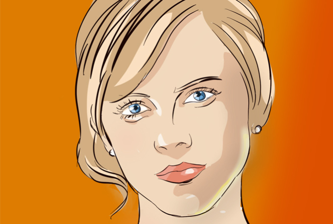 draw Your PORTRAIT In Funny Cartoon Style