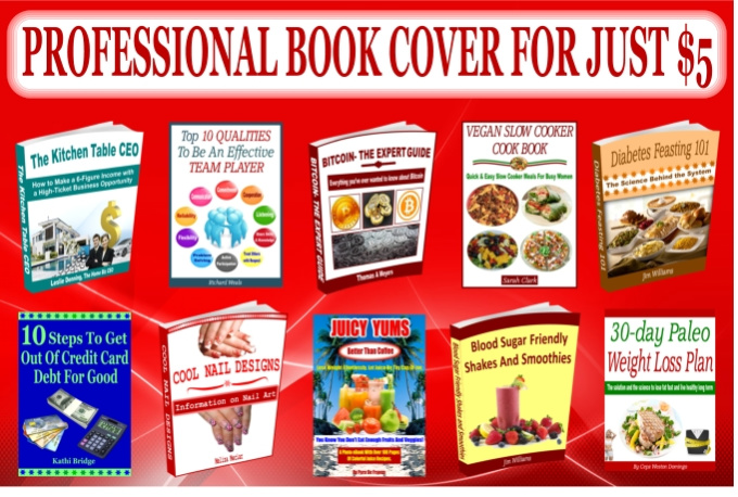 Kindle Book Cover Design Service : Design ebook cover or kindle within hours