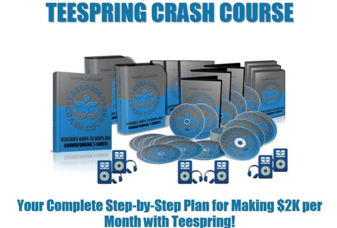give you Teespring Crash Course Premium
