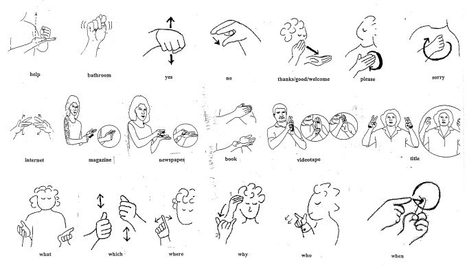 Teach you up to 50 words or sentences in american sign language for 5