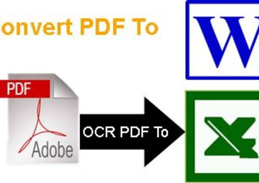 pdf to word and excel converter