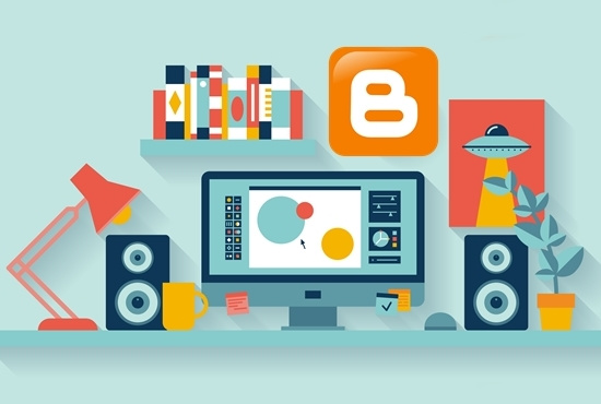 create a blogger blogspot for your niche with best template