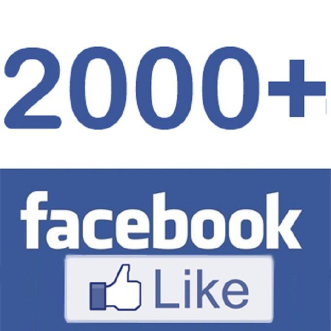 add 2000 facebook fans