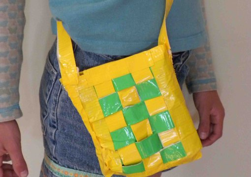 how to make woven bags